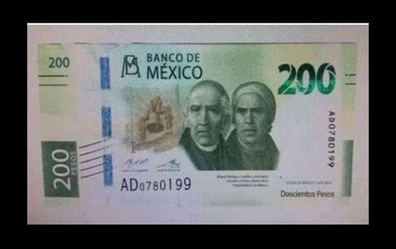 Van Morelos e Hidalgo en el nuevo billete de 200
