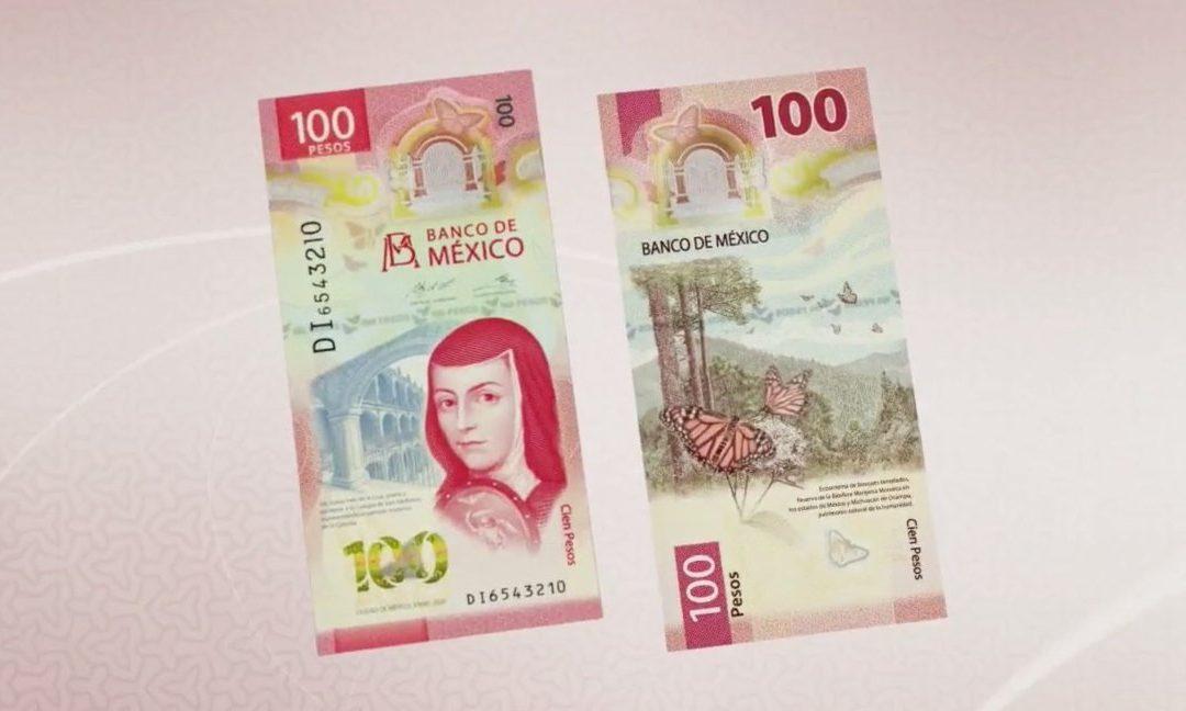 Así es el nuevo billete de 100 pesos