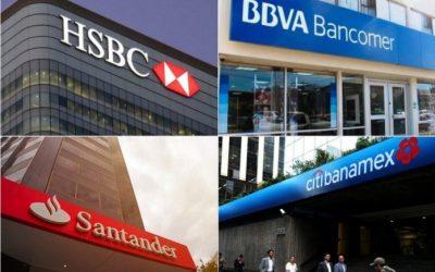 De enero a marzo 2021 más de 1 millones 400 mil reclamaciones a la Banca Múltiple