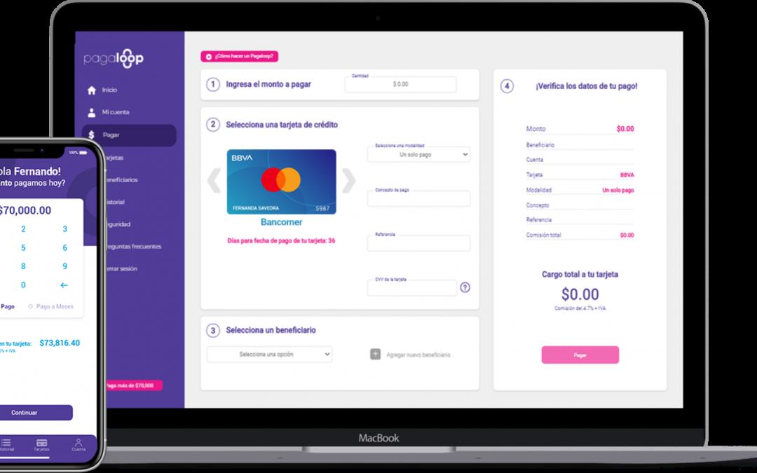 Pagaloop financia los gastos de tu empresa con tu tarjeta de crédito existente
