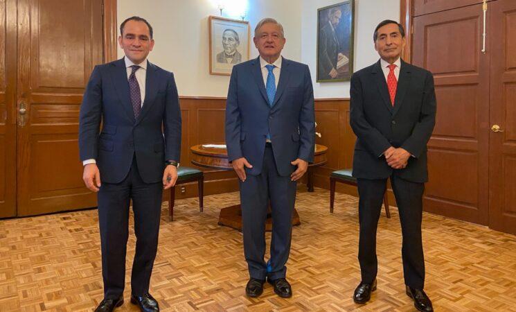 Presidente informa cambios en su gabinete; Rogelio Ramírez de la O llega a la SHCP